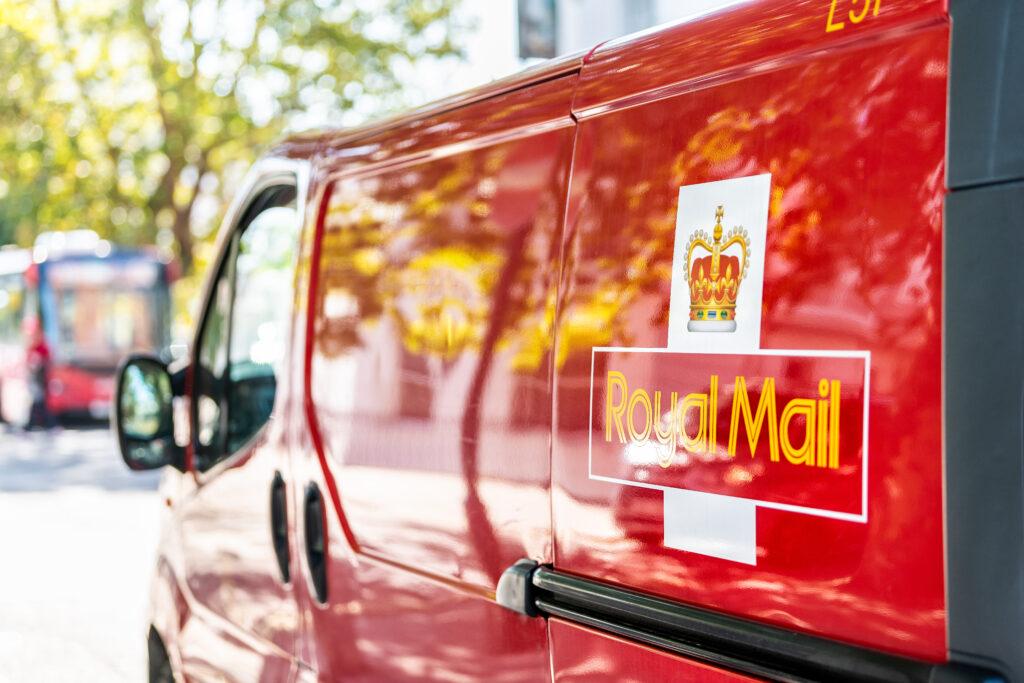 Zakelijke post Engeland