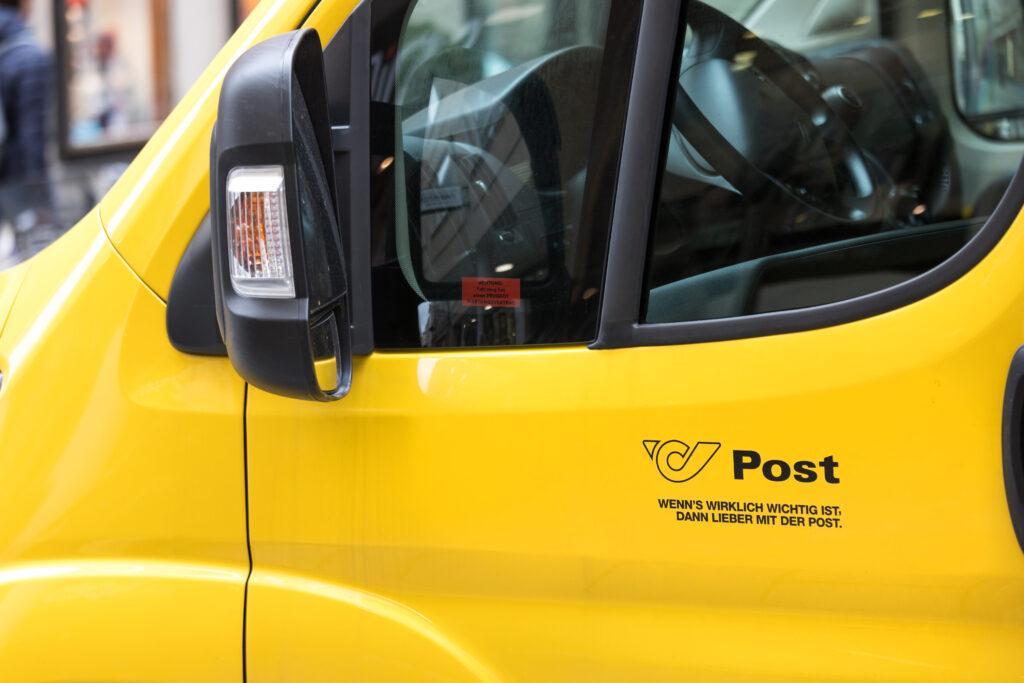 Zakelijke post Oostenrijk
